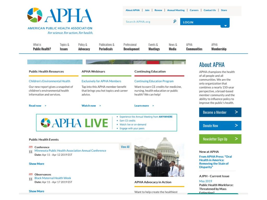 APHA Annual Meeting and Expo Registration