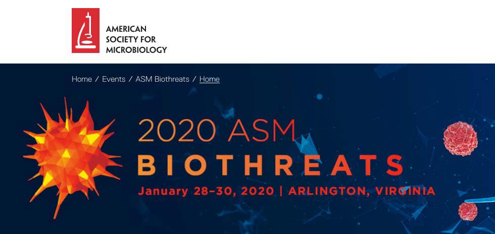2020 ASM Biothreats