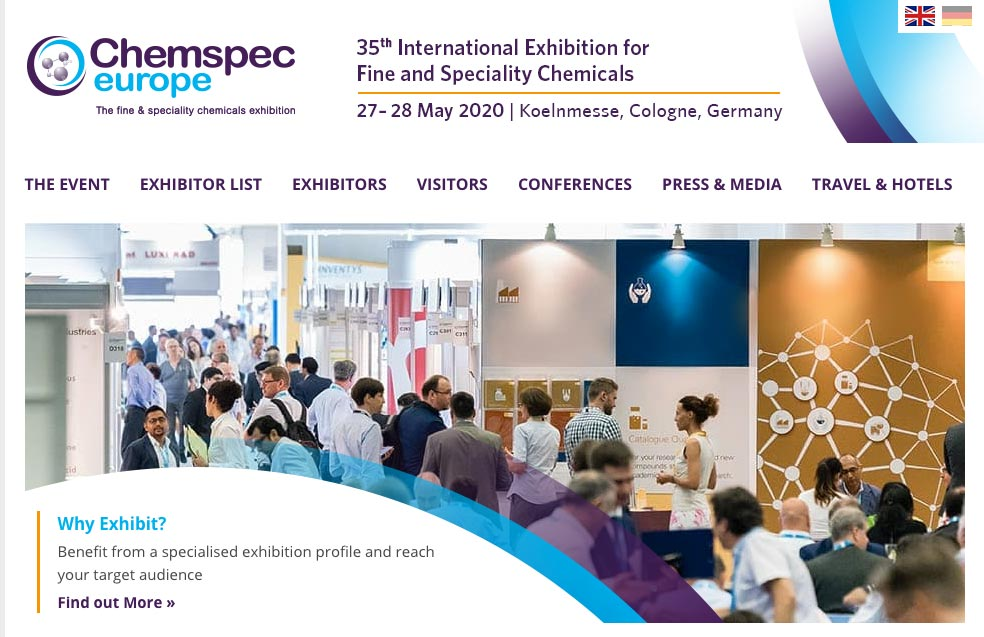 Chemspec Europe 2020